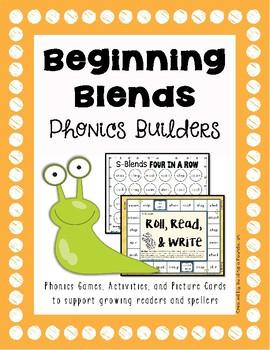 Phonics Builders: Beginning Blends