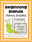 Phonics Builders: Beginning Blends