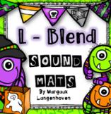 L-Blend sound identification mats Halloween
