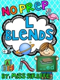 L Blends Worksheets and Activities (Beginning blends)