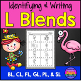 L Blends - Worksheets and EASEL Activities