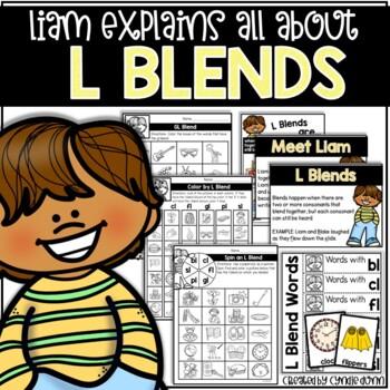 L Blends Activities