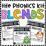 Beginning Blends Activities| Blend Centers BUNDLE | Phonics Activities 1st Grade