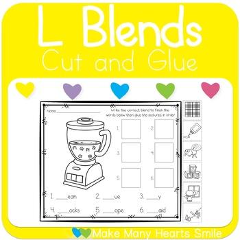 Cut and Glue L Blends
