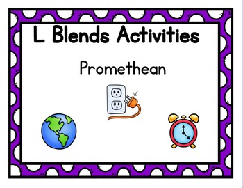 L Blends Activities Promethean