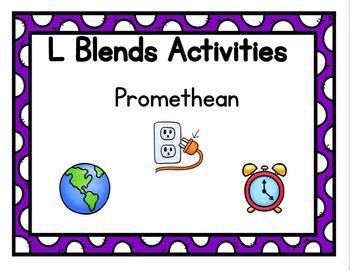 L Blends Activities Promethean