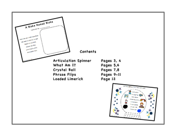 /BL/ Blends Activity Packet