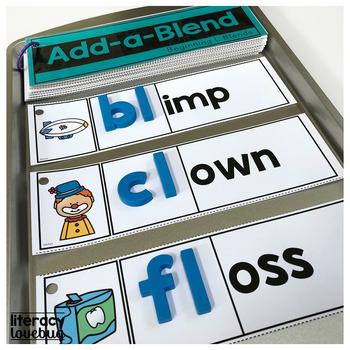 L Blends Add-a-Blend Activity