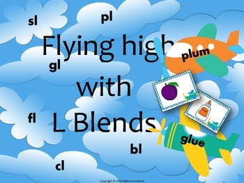 L Blends (Airplane Theme)