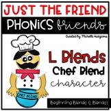 L Blends Beginning Blends Craftivity, Phonics Friends Just