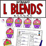 L Blends Worksheets | Consonant Blends | BL CL FL GL PL SL