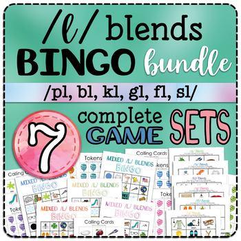 L Blends Bingo Bundle - 7 Game SETS