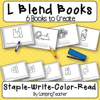 L Blends Books {6 Books to Create}