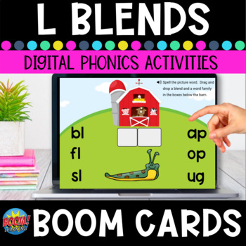 L Blends Boom Cards