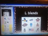 L Blends - CCSS RFS 2b - ActivInspire Flipchart - grade 1 phonics grade K