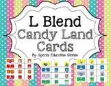 L Blends Candy Land Cards