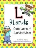 L Blends: Centers & Activities