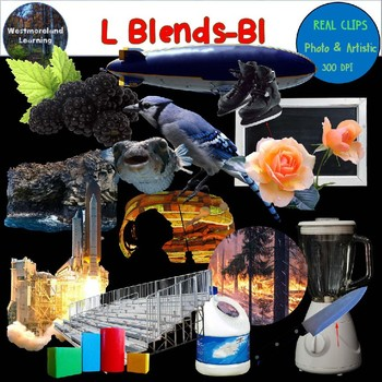 L Blends Clip Art BL Blend Real Clips Digital Stickers Photo & Artistic