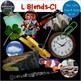 L Blends Clip Art BUNDLE Phonics Real Clips Digital Stickers Photo & Artistic