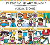 L Blends Clip Art Big Bundle - Volume One