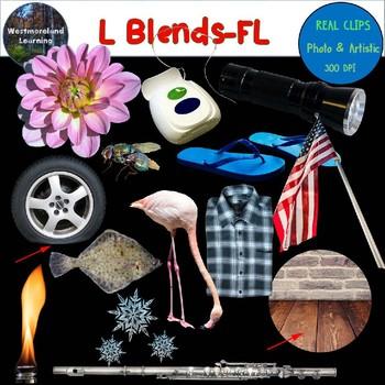 L Blends Clip Art FL Blend Real Clips Digital Stickers Photo & Artistic