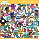 L Blends Clip Art VOLUME TWO