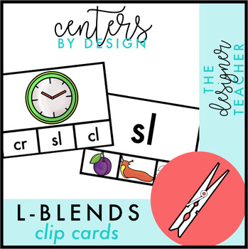 Centers by Design: L Blends Clip Cards