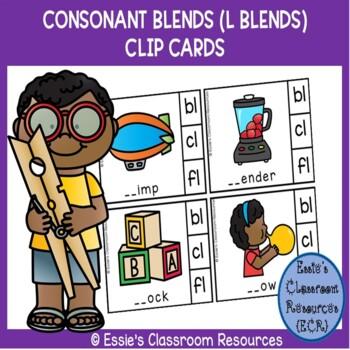 L - Blends Clip Cards