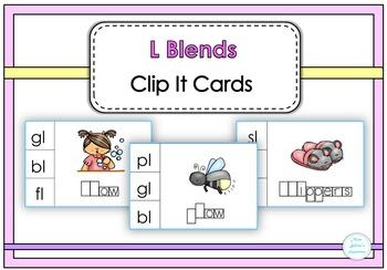 L Blends Clip It Cards