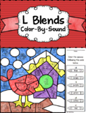 L Blends ~ Color by Sound ~ Winter Bird