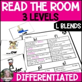 L Blends Read the Room Write the Room Differentiated