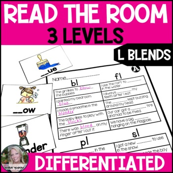 L Blends Differentiated Read the Room