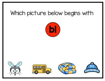 L-Blends Digital Interactive Fun (Digital Classroom)