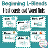 Beginning L Blends Flashcards and Center Activities