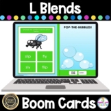 L Blends Hunt Game BOOM Cards  Phonics Activities