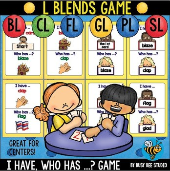 "L Blends Game ""I have, who has"""