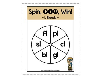 L Blends Game ~ Spin, Pin, Win!