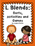 L Blends: Games, Sorts, and Activities