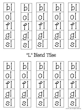 """L"" Blends Interactive Logic Book"
