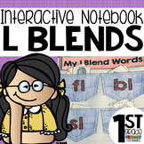 L Blends Interactive Notebook Activities