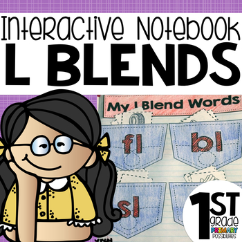 L Blends Interactive Notebook Activities