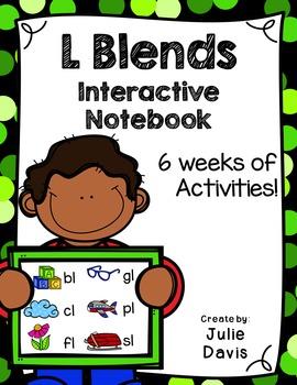 L Blends Interactive Notebooks Bundle