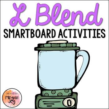 L Blends Interactive Phonics Activities for SmartBoards