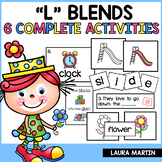 Blends-L Blend Activities