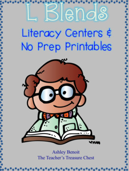 L Blends Literacy Centers and Printables