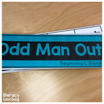 L Blends Odd Man Out Activity