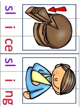 Consonant Blends Center Activities