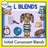Consonant Blends Activities | Initial Consonant Blends