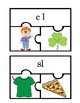 L Blends Pack:  Worksheets, Center Activity, Puzzles, and Clip Cards!