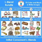 L-Blends Phonics Clip Art Bundle
